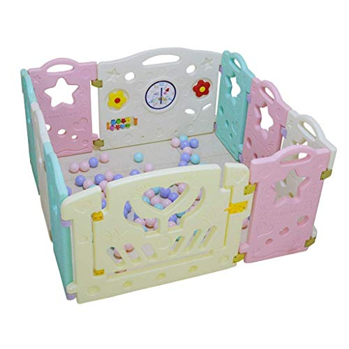 Best Deals! HWZQHJY Home Indoor Baby Playpens, Kids Toddlers Playing Fence Indoor Kids Safety Gates ...