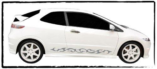 DD Dotzler Design 1005_25 Autodekor Tribal Tuning Aufkleber für Auto Set 1x Linke Seite 1x rechte Seite