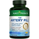The Artery Pill   MenaQ7® Vitamin K2   Ultra-Pure Omega-3 Fish Oil – Purity Products – 60-Count