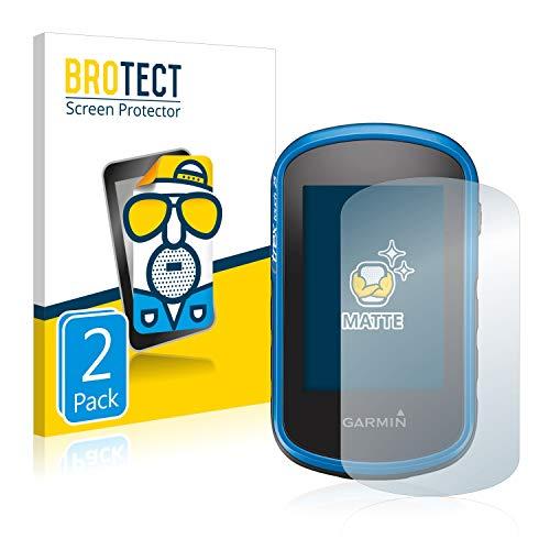 BROTECT Protector Pantalla Anti-Reflejos Compatible con Garmin eTrex Touch 35 (2 Unidades) Pelicula Mate Anti-Huellas