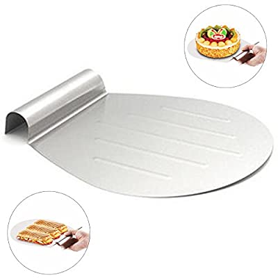 Stainless Steel Cake Baking Tools Cake Lifter Shovel Transfer Cake Tray Moving Plate Cake Lifter