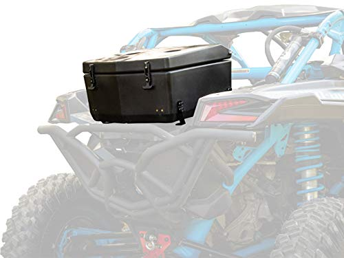 SuperATV Heavy Duty Rear Insulated Cooler/Cargo Box for 2017+ Can-Am Maverick X3 | 30-Liter Capacity | 100% Fit Guarantee | Sealed Lid Keeps Drinks Cold and Accessories Dry