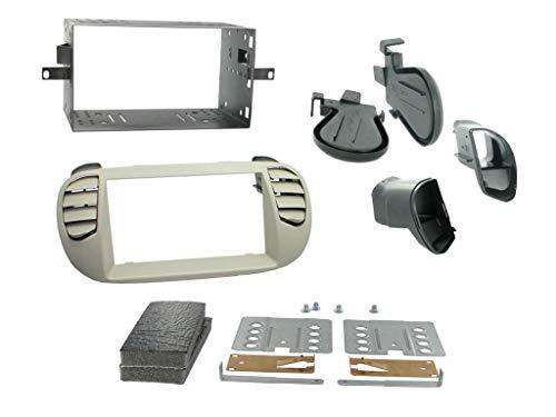 Connects2 ct23ft14 Fiat 500 2008 > Ivoire Kit de montage d'autoradio double DIN Surround