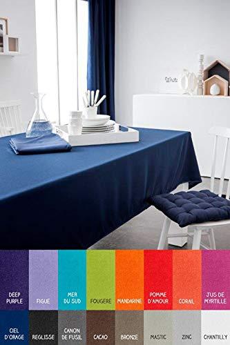 dkdo Nappe Rectangle - 150 x 250 cm - Today - Différents Coloris - Chantilly