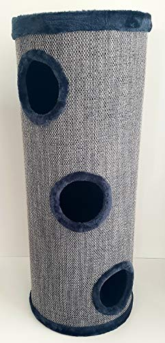 Lemio® Barril rascador Big Tub para gatos, 100 cm de alto, árbol rascador para gatos, muebles para gatos XXL