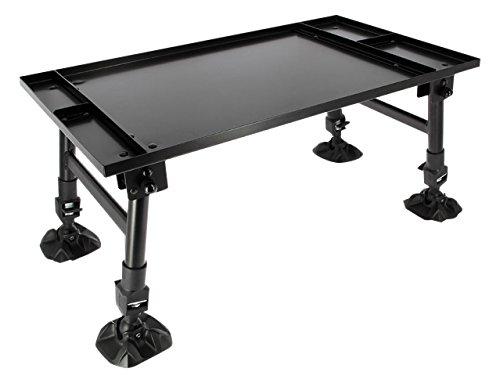NGT Unisex Fo Bivvytable groß Dynamic Karpfen Angeln Zelt Tisch Erweiterbarer Schutzblech Fuß, Grün, 35.5 x 60cm