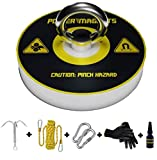 Magnet Fishing Kit | Fishing Magnet Complete Fishing Magnets Set with 330LBS Magnet, Stronger 8mm Rope and Exclusive Grappling Hook