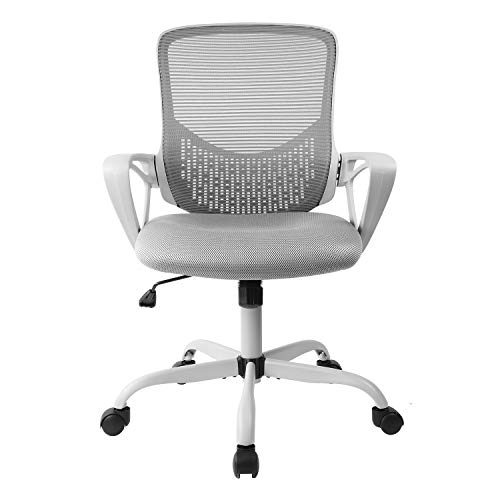 SMUGDESK Ergonomic Office Chair Lumbar Support Mesh Chair Computer Desk Chair Task Chair with Armrests