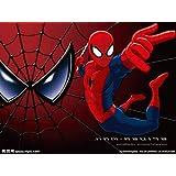 カスタム壁画壁紙3d大壁画スパイダーマンバットマンアイアンマン壁紙壁画子供部屋背景漫画壁紙