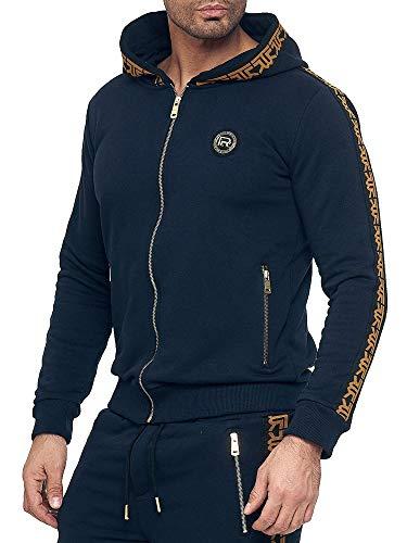 Red Bridge heren sweatshirt sweatjack capuchon hoodie R-logo Premium M2157