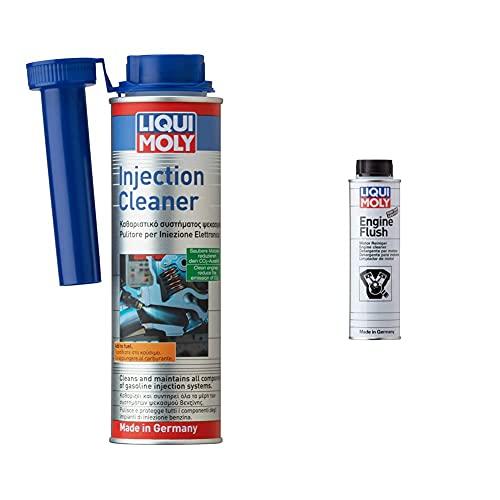 Liqui Moly 1803 Pulitore per Iniezione Elettronica & 2678 Additivo Olio Motore Engine Flush