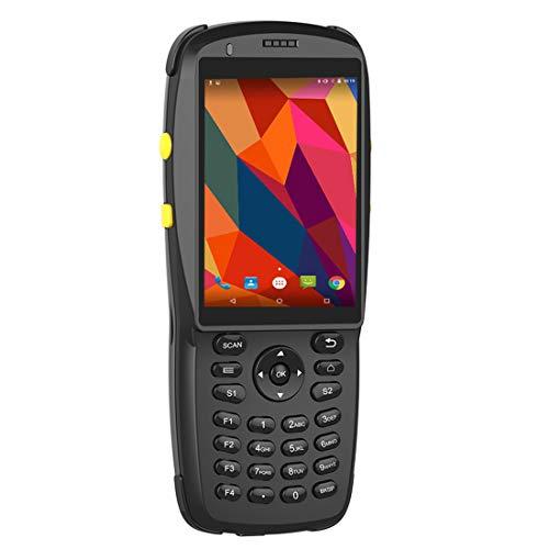 LLC-POWER Android Barcode Scanner, Robuste Portable Mobile Terminal 2D Red Light Reader, Écran Tactile, BT WiFi sans Fil 3G GPS pour Entrepôt Inventaire Détail