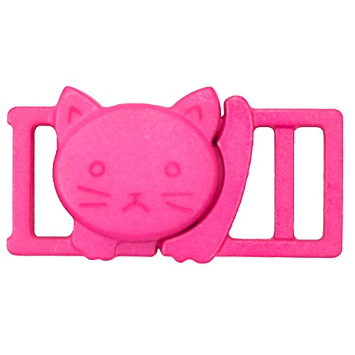 "Cat Head Shaped Plastic Safety Breakaway 3/8"" (11mm) Break-away Buckle"