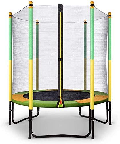 Fee-ZC Trampoline voor binnen en buiten, mini-ballon, rond, 60 inch, voor kinderen, met veiligheidsluidspreker, verjaardagscadeau voor kinderen, jongens en meisjes, max. 440 kg