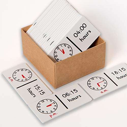 Learn Well-24 Hour Clock Dominoes Dominó Reloj 24 Horas (T532)