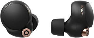Sony WF-1000XM4 Wireless Noise Cancelling Headphones with 1 year local Singapore manufacturer warranty (Black)