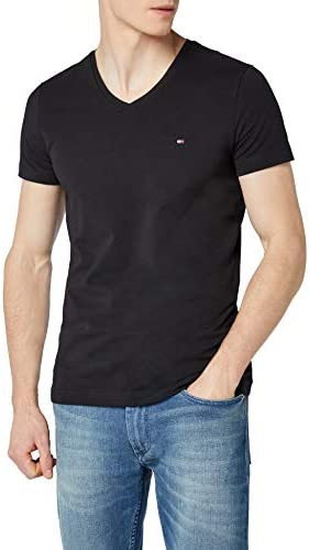 Core Stretch Slim Vneck tee Camiseta para Hombre