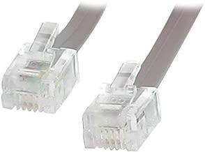 StarTech.com 25 ft RJ11 Telephone Modem Cable - Phone cable - RJ-11 (M) - RJ-11 (M) - 25ft