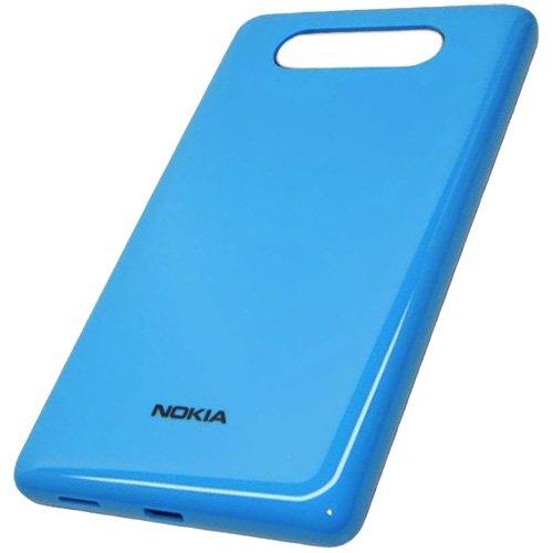 Nokia Lumia 820copribatteria originale ciano Battery Back Cover copribatteria coperchio per batteria a portafoglio Door