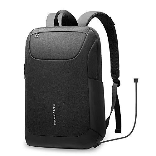 Business Laptop Backpack,Business Travel Backpack Bag Slim Laptop Rucksack,Water Resistant Student Daypack Fits 15.6 Inch Laptop