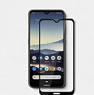 Screen Protector Scratch proof 9D for Nokia 7.2 Full Cover with Black Edge