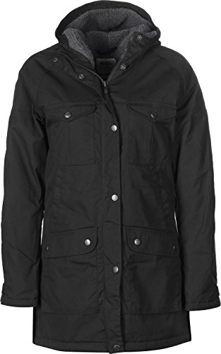 FJÄLLRÄVEN Greenland Winter Parka Women - Black/Grey