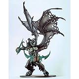 Xuping Modèle de Jouet Artisanat World of Warcraft Demon Hunter Anime Modèle de composant de Jouet (Couleur : Green)