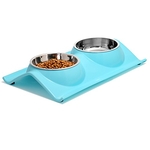 Double Dog Bowls Premium Stainless Steel