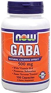 Now Foods GABA Vitamin B6 Capsules