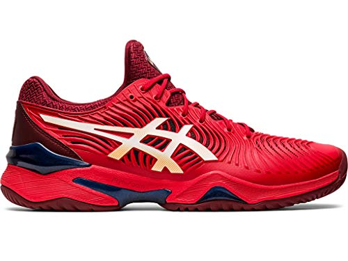 ASICS Men's Court FF 2 Tennis Shoes, 12M, Classic RED/White