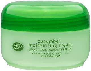 Boots Cucumber Moisturising Cream SPF 15 UVA & UVB Protection 100 ml