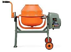 cheap Yardmax YM0046 1.6 Cu.Fort concrete mixer