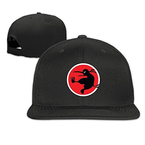 Ninja Kiwi Baseball Caps Men and Women Flat Billed Adjustable Classic Hip-Hop Hat