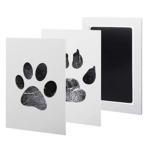 Cuigu Huella para bebé Kit y Huella de la Mano de Huellas de–Sello Paw Print Ink para approvisionnement para Mascotas condecoraciones de Ducha