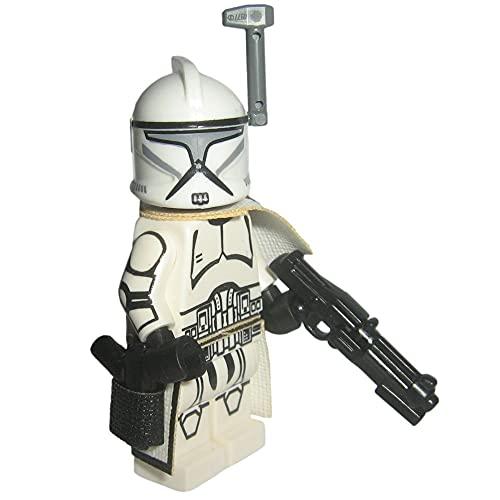 Custom Brick Design Republik Clone Trooper Sergeant Offizier Figur - modifizierte Figur des bekannten Klemmbausteinherstellers und somit voll kompatibel zu Lego