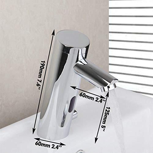 BFLO Kraan Wastafel Kraan Torneira Automatische Handsfree Touch Sensorkranen Badkamer Messing Spoelbak Chroom Mengers & Kranen Water Mixer