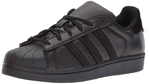 adidas Originals Boys' Superstar, Trainers 1.5 UK Core Black Black Black