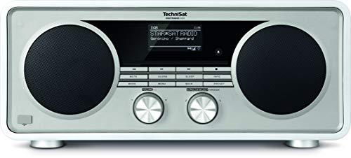 TechniSat DIGITRADIO 600 – Stereo Internetradio (DAB+, UKW, 70 Watt 2.1 System mit Subwoofer, Fernbedienung, CD-Player, USB, Bluetooth, AUX, WLAN, LAN, Radiowecker, Spotify Connect) weiß