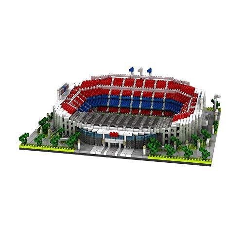 LMCLJJ Estadio Camp NOU Puzzle Campo de fútbol Campo de fútbol 3D Puzzle DIY
