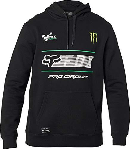Fox Racing Sudadera con capucha para hombre, tamaño XL, color negro