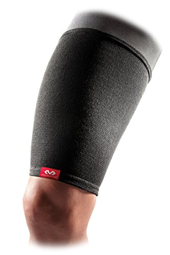 McDavid Level 1 Thigh Sleeve/Elastic, Large, Black