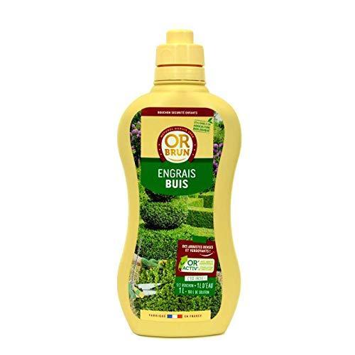 Engrais liquides buis Or Brun, fertilisant Organique 1 Litre UAB