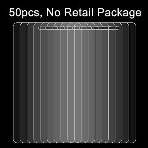 HUANGPUJIAN Custodie per telefono 50 PZ per Lenovo K6 Nota 0.26mm 9H Superficie Durezza 2.5D Antideflagrante Vetro Temperato Pellicola Dello Schermo Senza Pacchetto Al Dettaglio