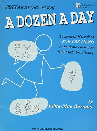 A dozen a day preparatory book ae book/cd pack piano+cd