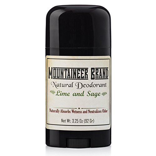 Natural Aluminum-Free Deodorant Stick by Mountaineer Brand | Stay...