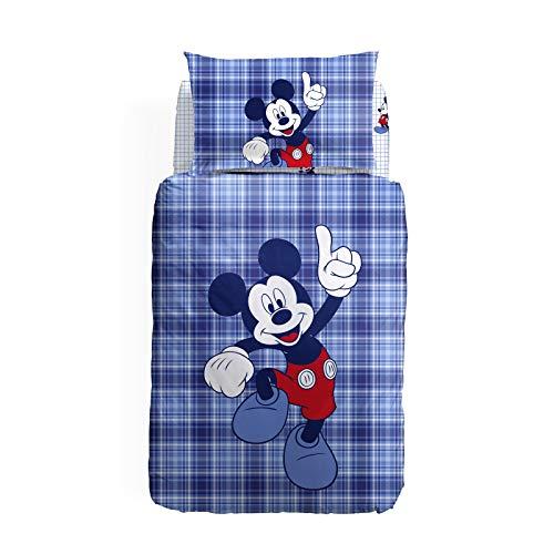 Mickey Mouse Completo Copripiumino Caleffi