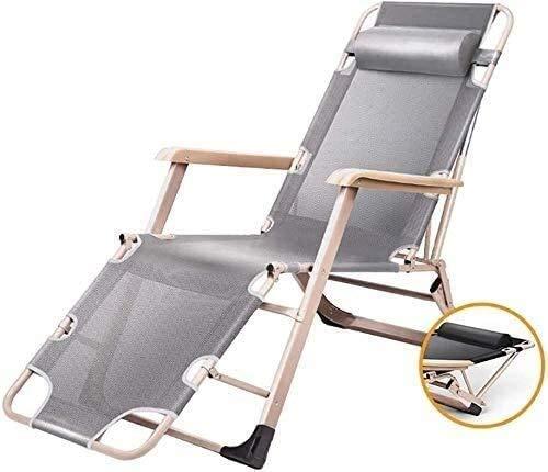 LSLY Tumbona, Silla reclinable para Exteriores, Fundas de Cojines Tumbona, tumbonas reclinables para Exteriores, Tumbona de jardín Ligera