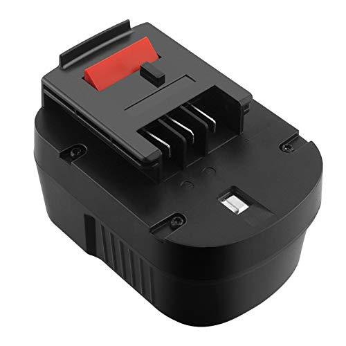 GOOALITY 12V 3,5Ah NiMH Batería compatible con Black & Decker A12 HPB12 A12E A12-XJ A12EX FSB12 FS120B FS120BX A1712 B-8315 BD-1204L BD1204L BPT1047 para Black & Decker herramientas eléctricas
