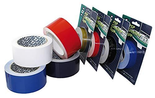 Saarwebstore PSP Marine Coveline Tape Zierstreifen Breiten Zierband Streifen Farbe Weiß, Größe 25mm x 50m