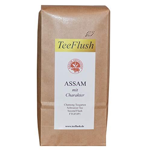 Assam Second Flush, FTGFOP1, Schwarzer Tee, 500g, 2019, Bio, Broken lose, Geschmack: würzig, malzig mit Honigton, Chamong Gruppe-Tonganagaon Teegarten